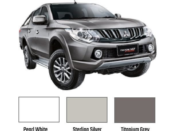 Triton VGT AT Premium Colour Choices